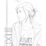 Juliet - pencils